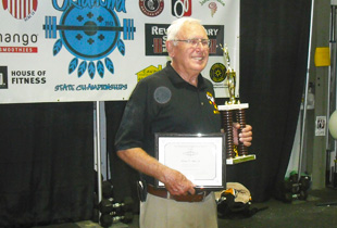 Bob White, Jr., Member, Oklahoma Weightlifting Hall of Fame