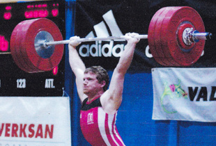 Chad Vaughn, 2-Time Olympian, American Record, Clean & Jerk