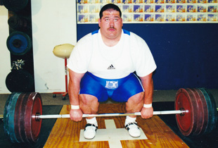 Shane Hamman, 2-Time Olympian, World Record Holder - Squat